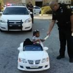 Cruising 2-Year-Old Gets a Traffic Ticket