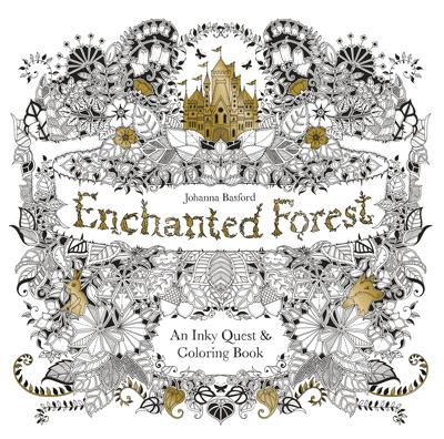 Adult Coloring Book: Enchanted Forest