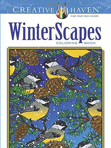 WinterScapes (Creative Haven Coloring Book)
