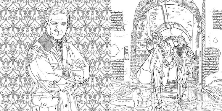 sherlock coloring pages - photo#23