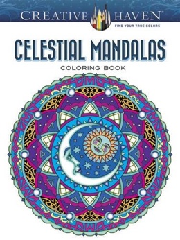 Featured new coloring book release: Celestial Mandalas