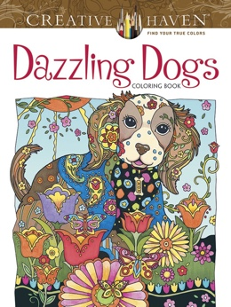 Featured new coloring book release: Dazzling Dogs