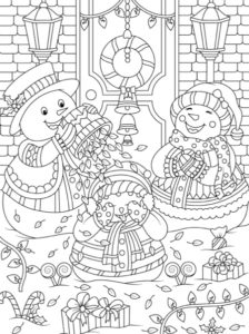 christmas coloring books jade summer page1 224x300jpg