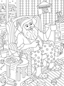 christmas coloring books jade summer page2 222x300jpg
