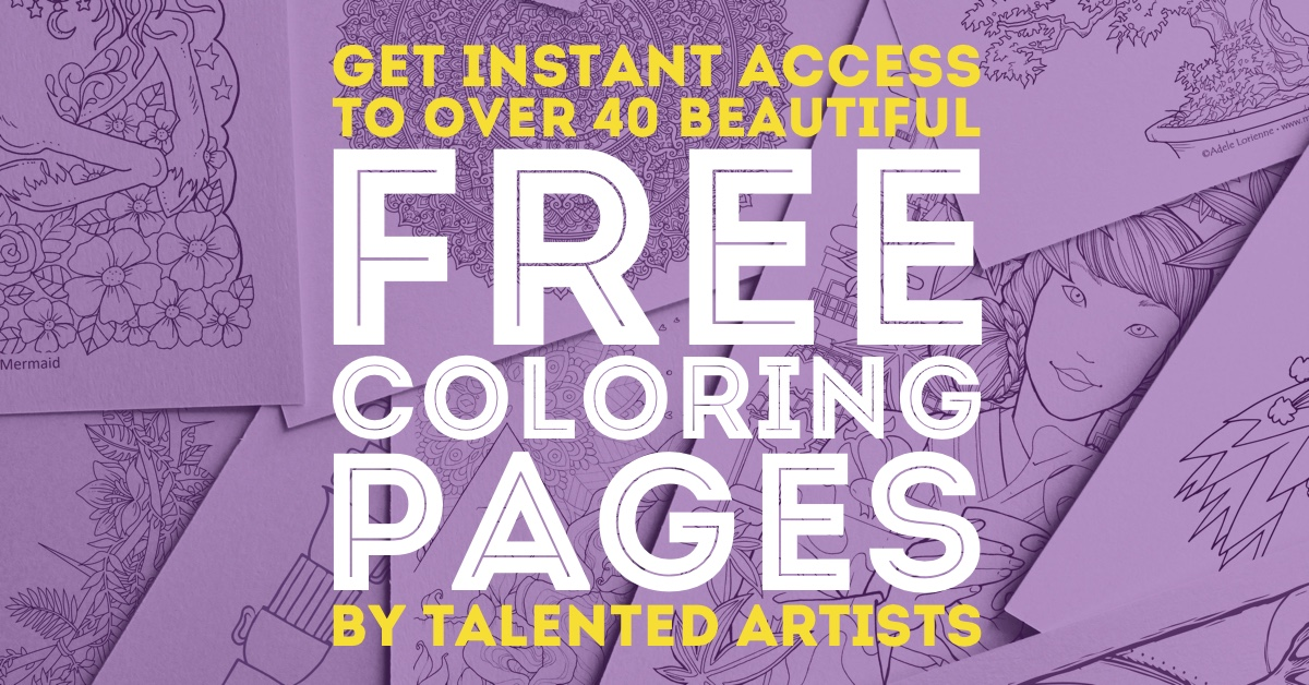 Free Coloring Pages Get Instant Access To The Page Library
